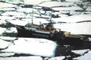 Het schip de Greenpeace